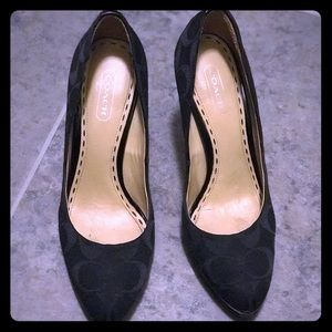 Coach high heels